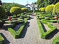 The Dutch garden, Graythwaite Hall - geograph.org.uk - 203375.jpg