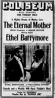 <i>The Eternal Mother</i> (1917 film) 1917 American film directed by Frank Reicher