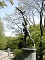 The Falconer sculpture in Central Park, New York.jpg