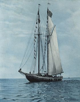 Le Bluenose, vers 1930