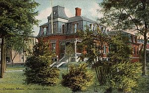 Chelsea, Massachusetts - The Fitz Public Library in 1905