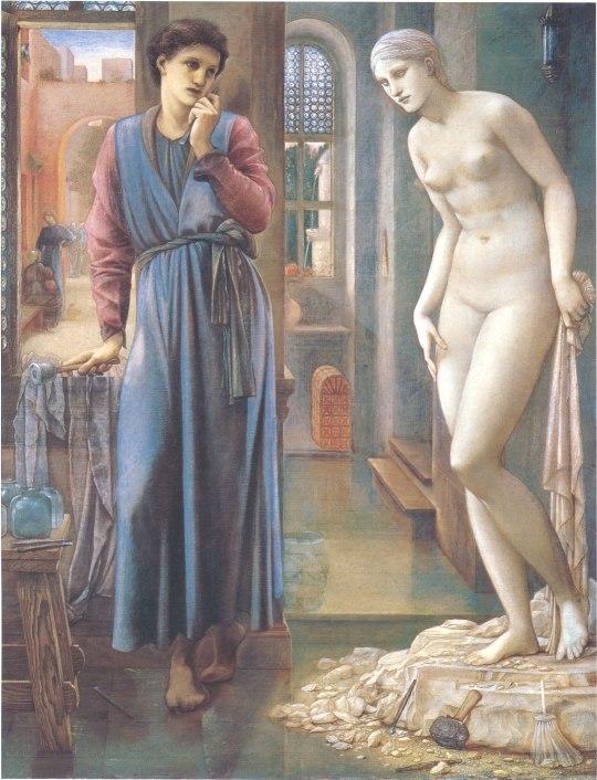 The Hand Refrains, 2nd series, Pygmalion (Burne-Jones)