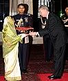 The High Commissioner-designate of Canada, Mr. Stewart Beck presented his Credentials to the President, Smt. Pratibha Devisingh Patil, at Rashtrapati Bhavan, in New Delhi on December 08, 2010.jpg