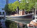 The Knocker White Steam Tug, West India Quay - London Docklands..jpg