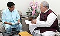 The Lt. Governor of Puducherry, Ms. Kiran Bedi calling on the Union Minister for Micro, Small and Medium Enterprises, Shri Kalraj Mishra, in New Delhi on July 27, 2016.jpg