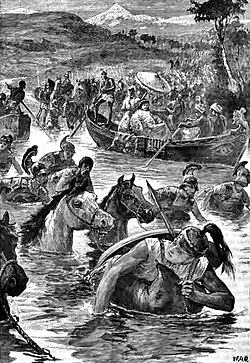 The Macedonians crossing the Jaxartes.jpg