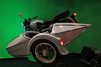 Harry Potter and the Deathly Hallows – Part 1 - The motorcycle with a sidecar used by Hagrid and Harry in the film.