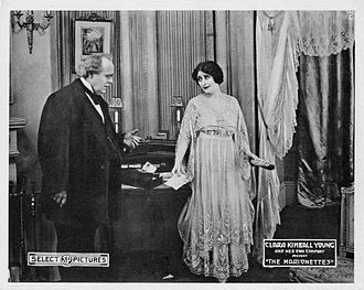 Émile Chautard - Edward Kimball and Clara Kimball Young in The Marionettes (1918)