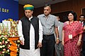 The Minister of State for Finance and Corporate Affairs, Shri Arjun Ram Meghwal lighting the lamp to inaugurate the 2nd Indian Cost Accounts Service day function, in New Delhi.jpg