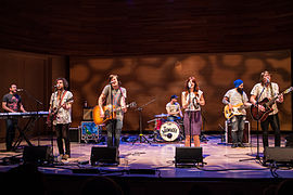 The Mowgli's May 2014 at the Musical Instrument Museum, Phoenix, Az.jpg