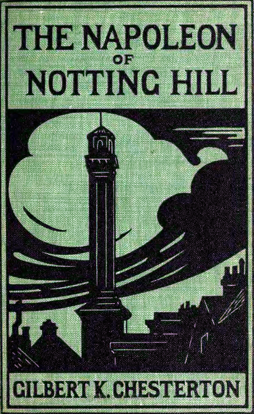 The Napoleon of Notting Hill - Front cover.png