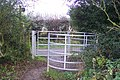 The North Downs Way meets Chevening Lane - geograph.org.uk - 1578141.jpg