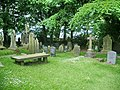 The Parish Church of St James, Briercliffe, Burnley, Graveyard - geograph.org.uk - 832767.jpg