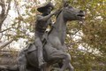 The Pony Express statue is made by sculptor Thomas Holland in Old Sacramento, California LCCN2013633894.tif