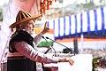 The Prime Minister, Shri Narendra Modi addressing at the inauguration of the Dorjee Khandu State Convention Centre, in Itanagar, Arunachal Pradesh on February 15, 2018.jpg