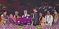 The Prime Minister, Shri Narendra Modi inaugurating the banking services of Utkarsh Bank, at a function, in Varanasi, Uttar Pradesh.jpg