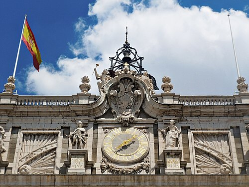 The Royal Palace, Madrid, Spain IV.JPG