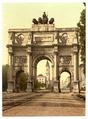 The Seigesthor (i.e. Siegestor) (Triumphal Arch), Munich, Bavaria, Germany-LCCN2002696150.tif
