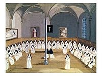 The Sisters of the Abbey of Port-Royal by Magdeleine Hortemels c. 1710.jpg