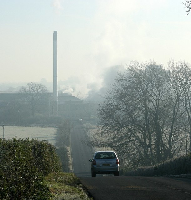 The Staverton Chimney - geograph.org.uk - 613951