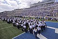 The U.S. Air Force Academy (USAFA) cadet wing opens the 2012 football season during pre-game ceremonies as the USAFA Falcons compete against the Idaho State Bengals at Falcon Stadium in Colorado Springs, Colo 120901-F-ZJ145-467.jpg
