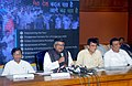 The Union Minister for Communications & Information Technology, Shri Ravi Shankar Prasad addressing a Press Conference, after the function 'Vikas Parva', in Mumbai.jpg
