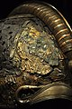The Vikings Begin 69 - detail, warrior helmet, Valsgärde boat grave 5, 7th century.jpg