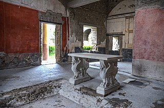 House of the Prince of Naples Roman townhouse in Pompeii