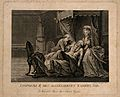The death of Kaiser Leopold, his wife and a physician in att Wellcome V0006889.jpg