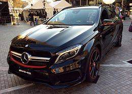 The frontview of Mercedes-Benz GLA45 AMG 4MATIC Edition 1 (X156).JPG