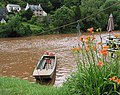 The hand ferry moored at Symonds Yat East - geograph.org.uk - 472079.jpg
