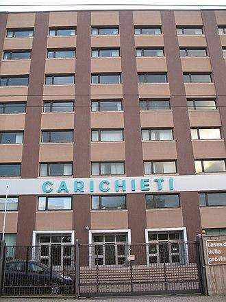 Banca Teatina - Image: The headquarters of Nuova Cassa di Risparmio di Chieti S.p.A