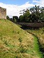The moat, Sherborne Old Castle - geograph.org.uk - 509251.jpg