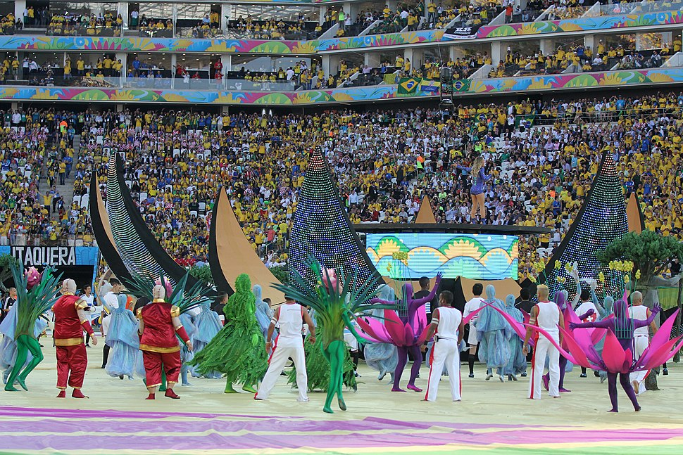 The opening ceremony of the FIFA World Cup 2014 42