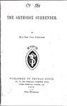 The orthodox surrender.pdf