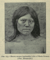 The races of man, figure 173 Bororo woman.png