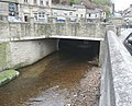 The river bridge at Victoria Square, Holmfirth - geograph.org.uk - 732649.jpg