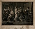 The seated figure of Zeuxis surrounded by five female figure Wellcome V0049036.jpg