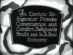 Fil:Theater commercial, electric refrigerator, 1926.ogv