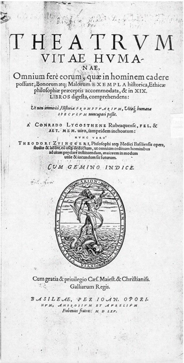 Theatrum Vitae Humanae 1565