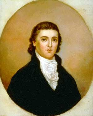Thomas Posey - Portrait of Posey by John Bayless Hill