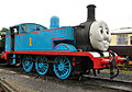 Thomas at Buckfastleigh railway station.jpg