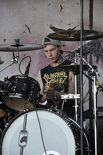 Thy Art Is Murder - Founding member and drummer Lee Stanton