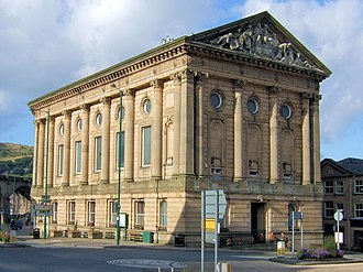 Todmorden - Todmorden Town Hall