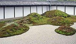 Karesansui garden at Tōfuku-ji in Kyoto