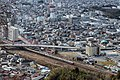 Tokaido Main Line viewed from Sawayama 2018-01-14.jpg