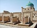 Tombes autour du mausolée Pakhlavan Makhmoud (Khiva, Ouzbékistan) (5596932909).jpg