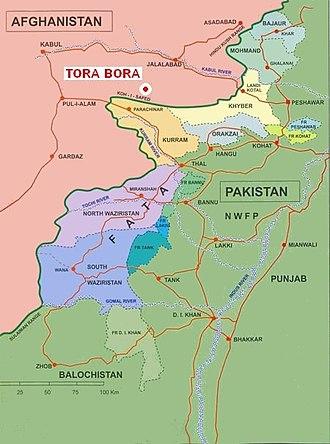 Battle of Tora Bora - Image: Tora Bora
