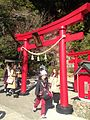 Torii of Hakuryu Inari Shrine near Sea Hell Hot Spring.jpg