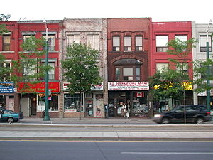 Spadina Avenue - A view of Chinatown on Spadina Avenue north of Dundas Street